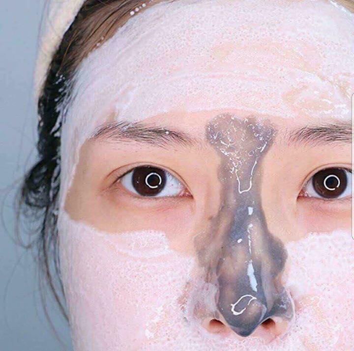 Mặt Nạ Sủi Bọt Thải Độc Da Su:m 37 Bright Award Bubble-De Mask 6