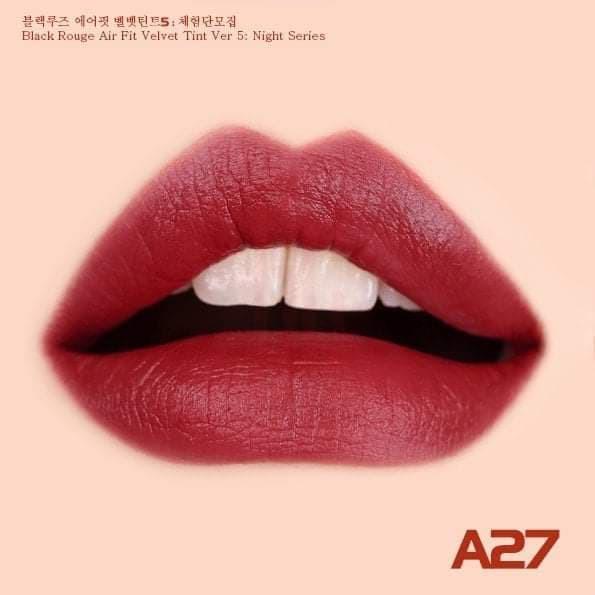 Son Kem Lì Black Rouge Air Fit Velvet Ver 5 4