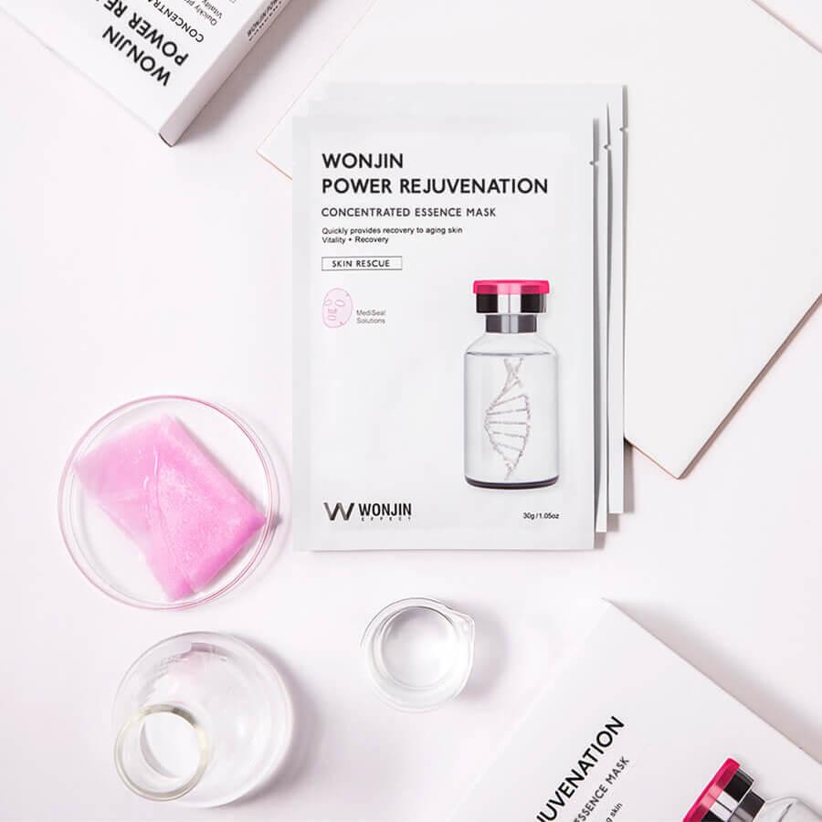 Mặt Nạ Trẻ Hóa Da Wonjin Effect Medi Cell Rejuvenation Mask 4